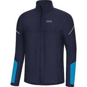 GORE WEAR M Thermo Long Sleeve Zip Shirt Men orbit blue/dynamic cyan
